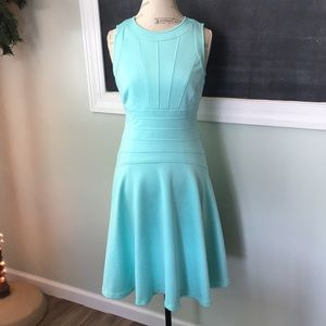 Calvin Klein Tiffany Blue Dress sz 8